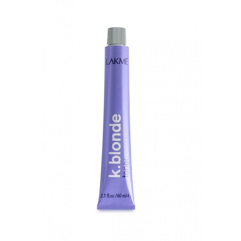 Тонер для волосся перламутрового відтінку Lakme K.blonde toner silver 60 мл