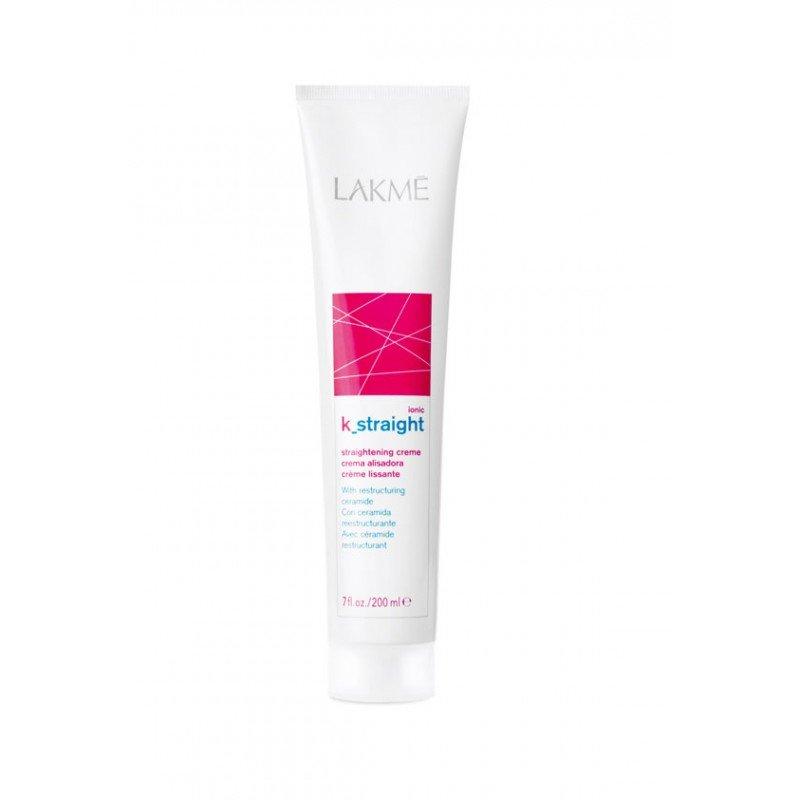 Комплекс для випрямлення жорстких волосся з тепловим впливом Lakme K.Straight Ionic Straightening System Resistant Hair 0