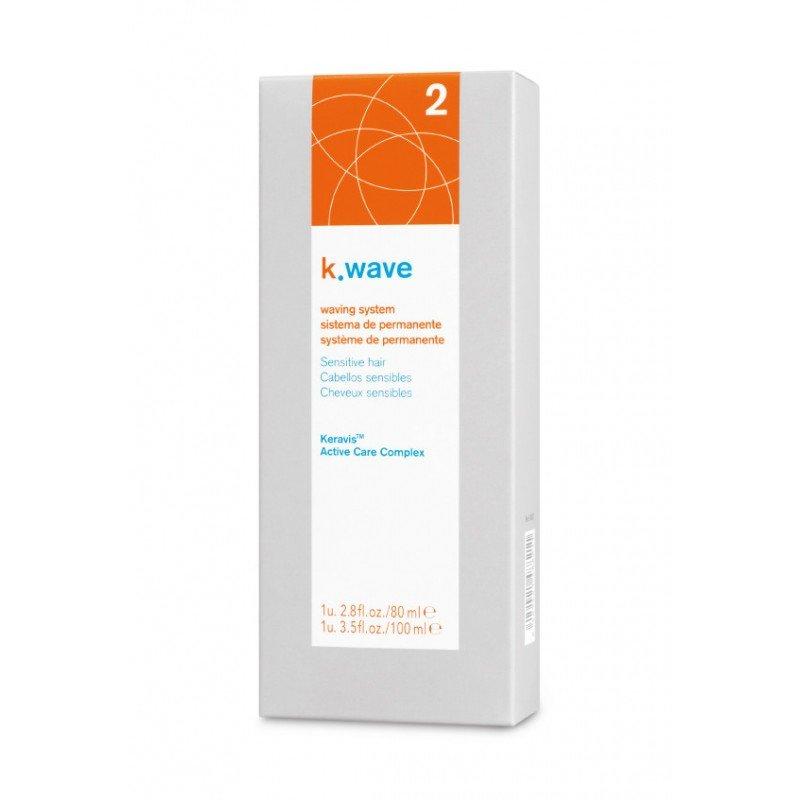 Двокомпонентна хімічна завивка для чутливих волосся Lakme K.Wave Waving System Sensitive Hair 2