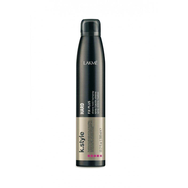 Лак-спрей для волосся екстра сильної фіксації Lakme K.Style Hard Fix Plus Xtreme Hold Spray 300 мл
