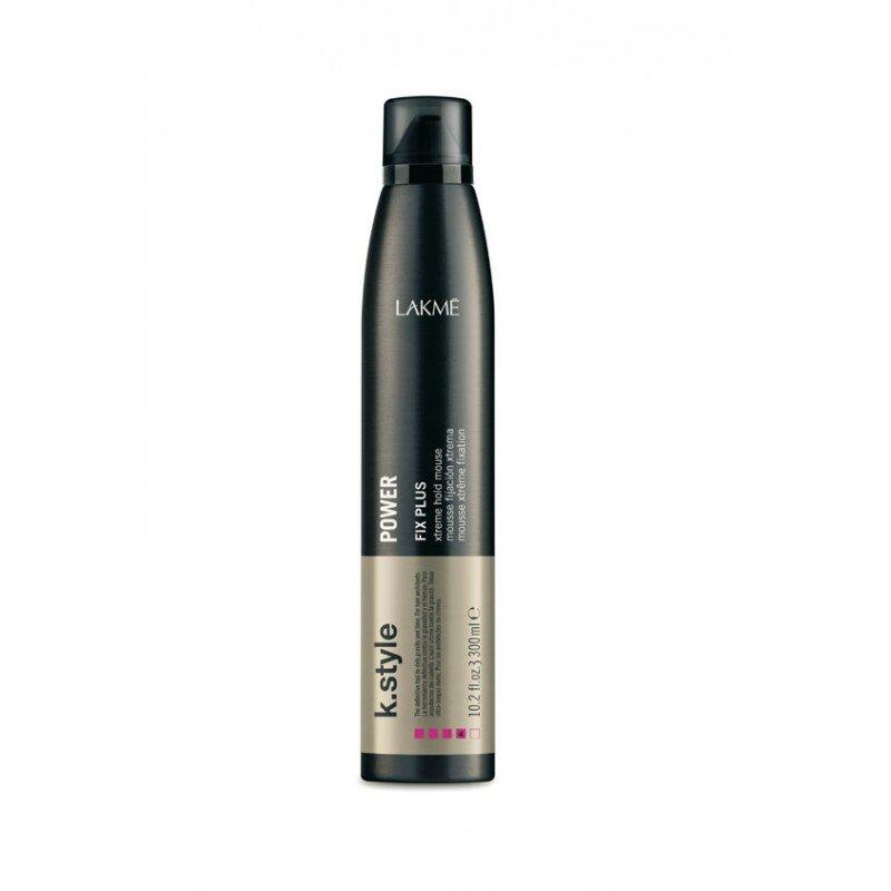 Мус для укладки волосся екстра сильної фіксації Lakme K.Style Power Fix Plus Xtreme Hold Mousse