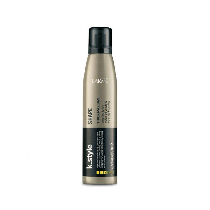 Лосьйон для укладки волосся і надання об'єму Lakme K.Style Shape Thick & Volume Brushing Lotion