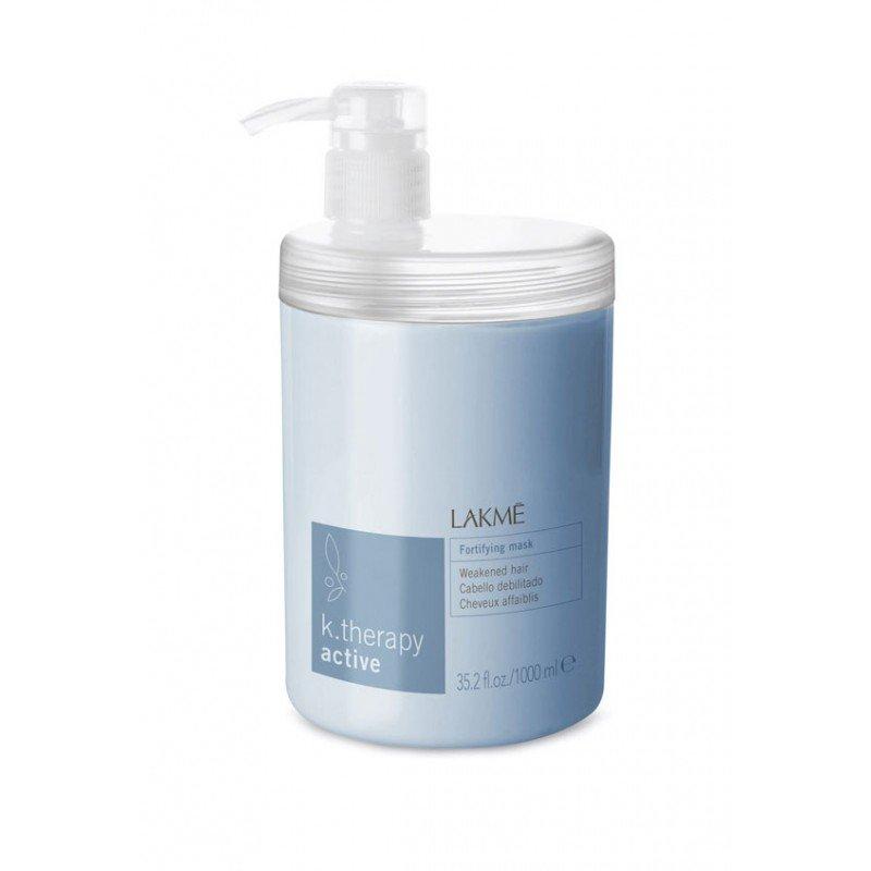 Маска зміцнювальна для слабкого та неживого волосся Lakme K.Therapy Active Fortifying Mask 1000 мл