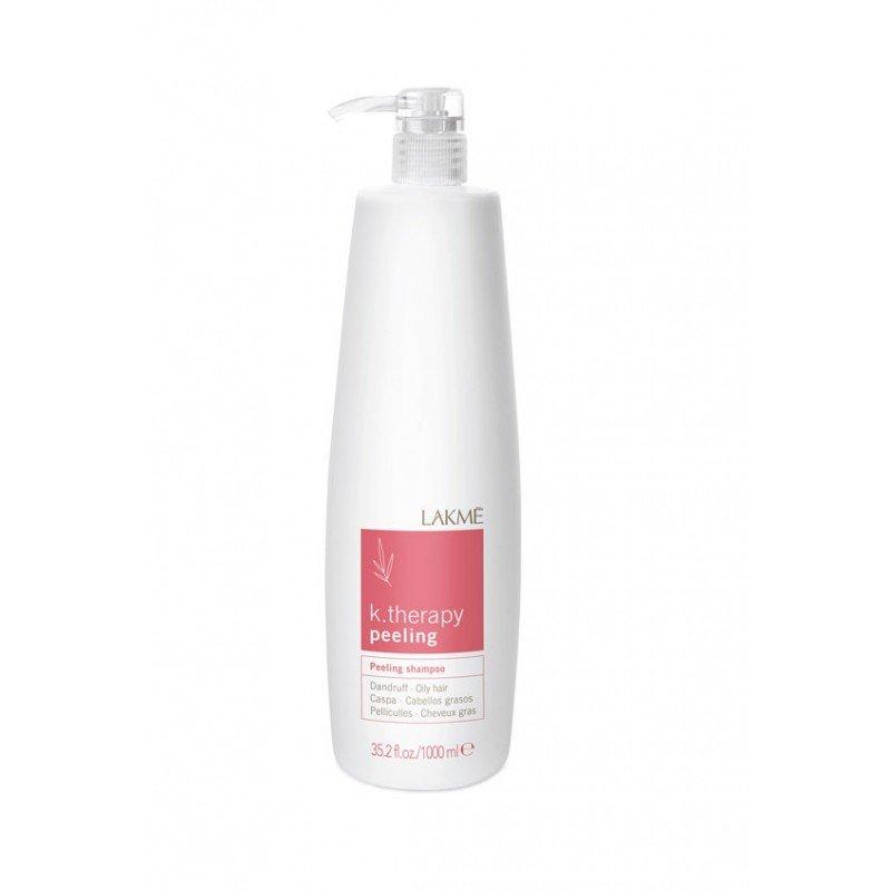 Шампунь проти лупи для жирного волосся Lakme K.Therapy Peeling Oily Hair Shampoo 1000 мл