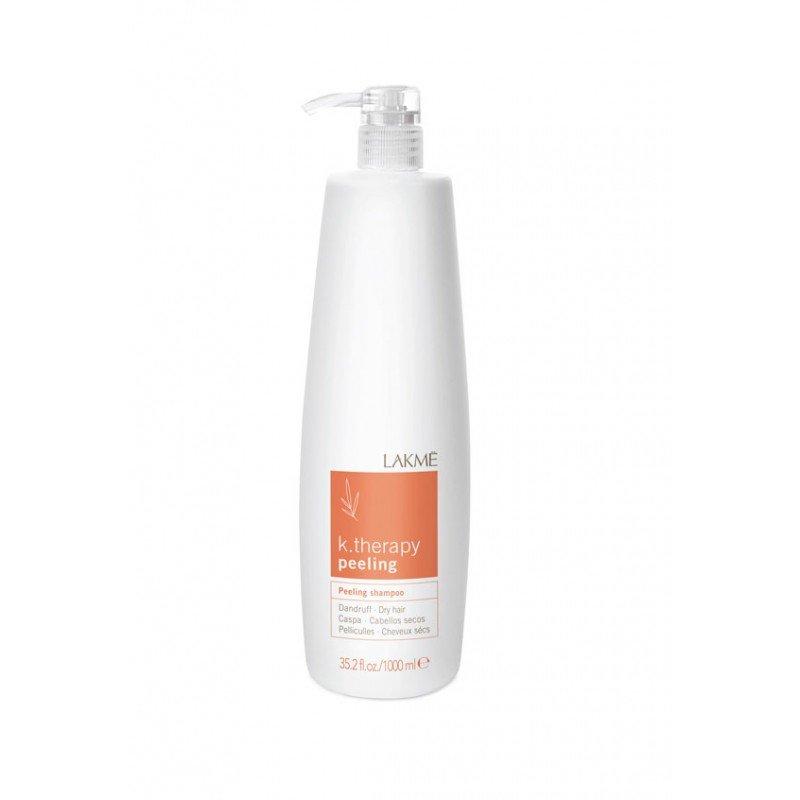 Шампунь проти лупи для сухого волосся Lakme K.Therapy Peeling Dandruff Dry Hair Shampoo 1000 мл