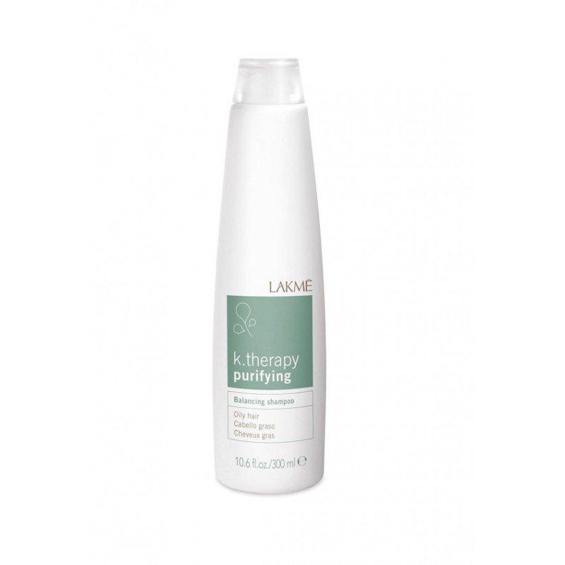 Шампунь балансуючий для жирного волосся Lakme K.Therapy Purifying Shampoo