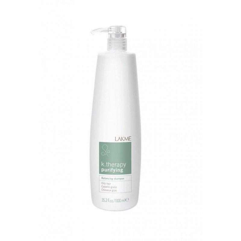 Шампунь балансуючий для жирного волосся Lakme K.Therapy Purifying Shampoo 1000 мл