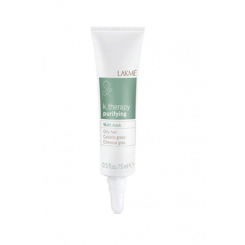 Маска для жирного волосся з матуючим ефектом Lakme K.Therapy Purifying Matt Mask Oily Hair 6*15мл