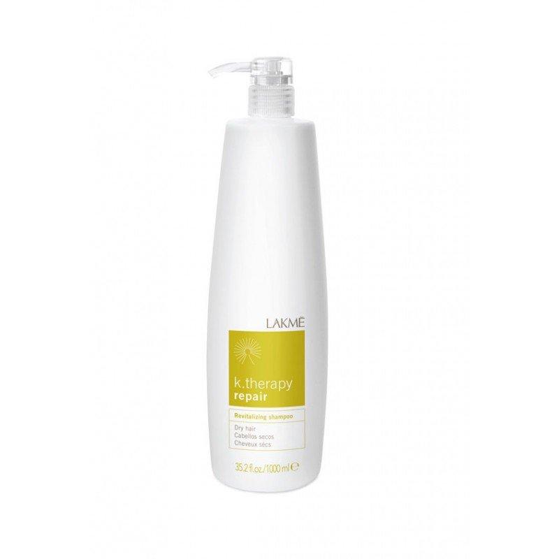 Шампунь для сухого та пошкодженого волосся Lakme K.Therapy Repair Revitalizing Dry Hair Shampoo 1000 мл