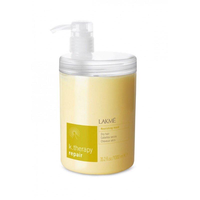 Маска живильна для сухого та пошкодженого волосся Lakme K.Therapy Repair Nourishing Dry Hair Mask 1000 мл