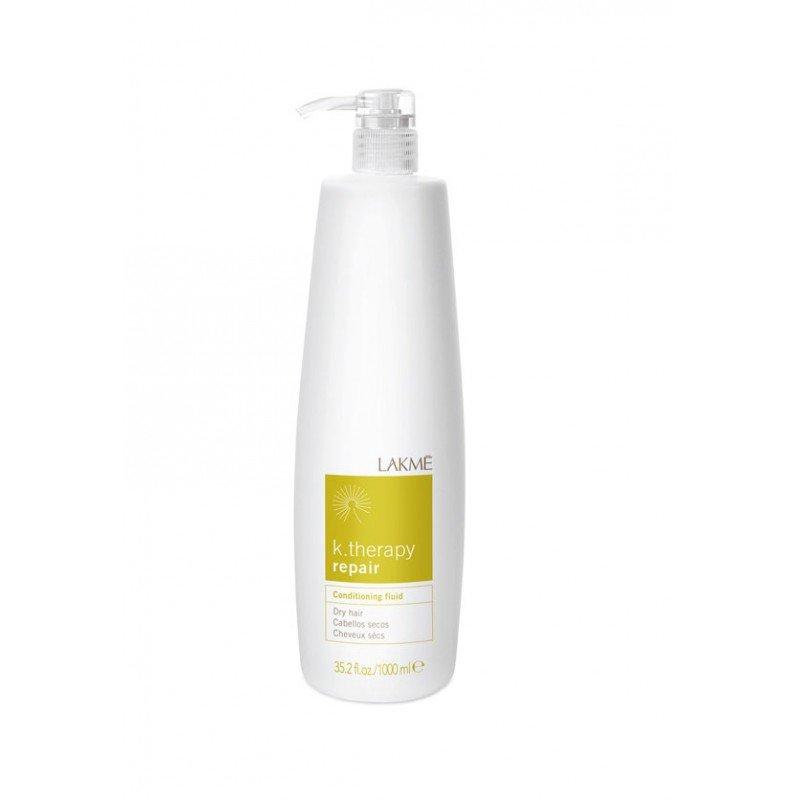 Кондиціонер-флюїд відновлювальний для сухого волосся Lakme K.Therapy Repair Conditioning Dry Hair Fluid 1000 мл