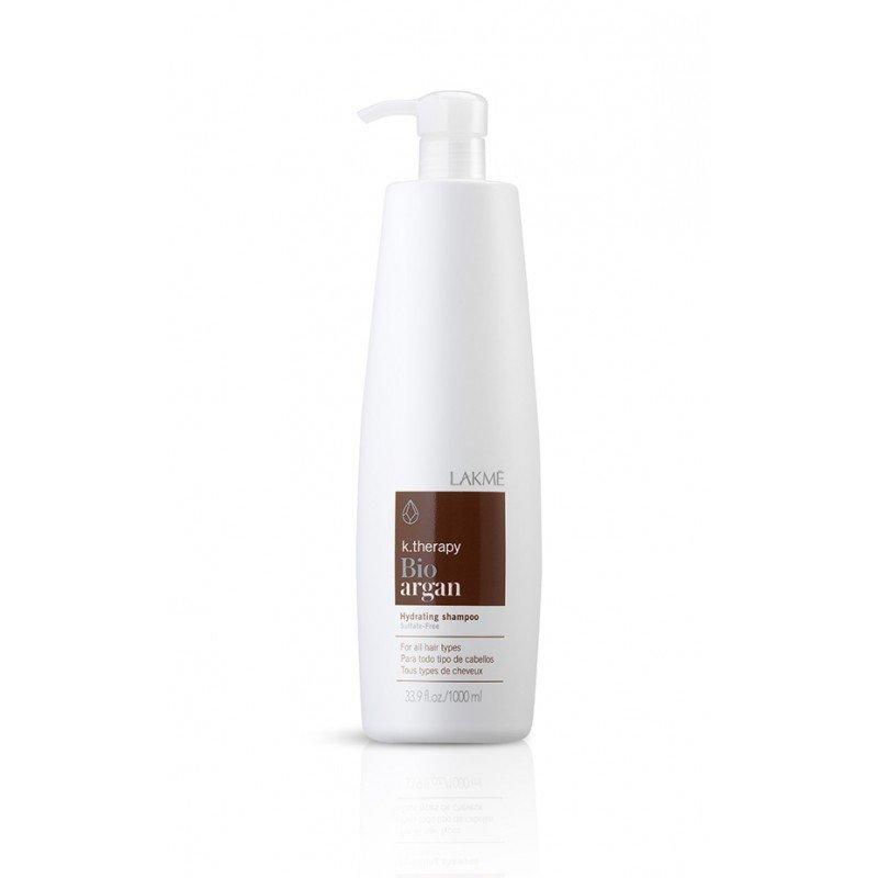 Шампунь зволожувальний аргановий Lakme K.Therapy Bio-Argan Hydrating Shampoo 1000 мл