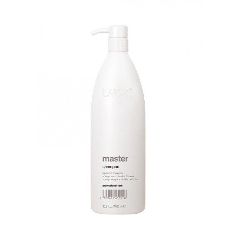 Шампунь з фруктовими кислотами Lakme Master Shampoo 1000 мл