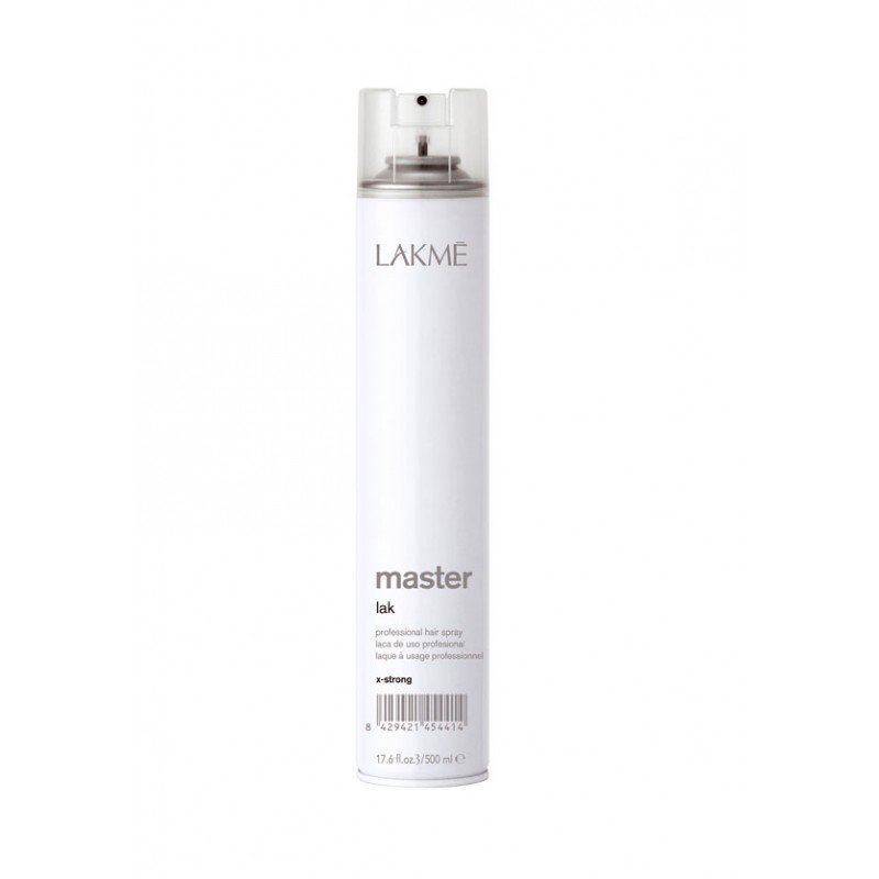 Лак для волосся екстрасильної фіксації Lakme Master Lak X-Strong 500 мл