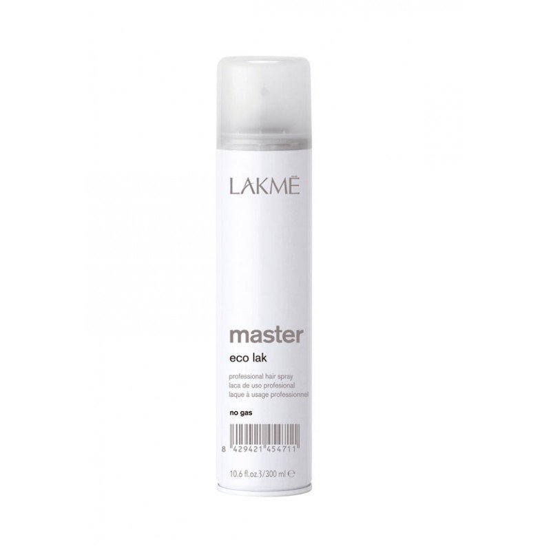 Неаерозольний лак для волосся Lakme Master Eco Lak No Gas Hair Spray