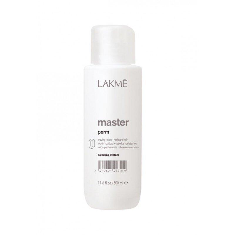 Лосьйон для завивки жорсткого волосся Lakme Master Perm Waving Lotion 0 for Resistant Hair