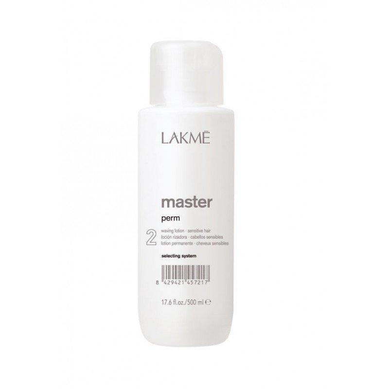 Лосьйон для завивки пофарбованих і чутливих волосся Lakme Master Perm Waving Lotion 2 for Sensitive Hair