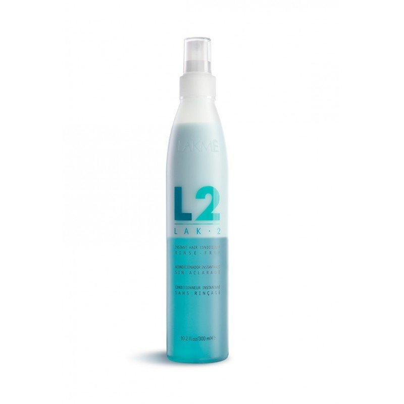 Двофазний кондиціонер для волосся Lakme Lak-2 Instant Hair Conditioner Rinse-free 300 мл