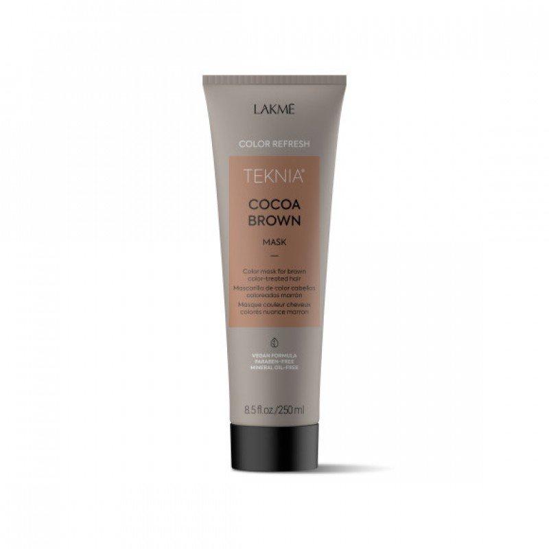 Маска для оновлення кольору коричневих відтінків волосся Lakme Teknia Color Refresh Cocoa Brown Mask