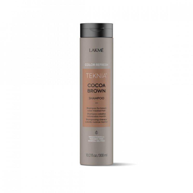 Шампунь для оновлення кольору коричневих відтінків волосся Lakme Teknia Color Refresh Cocoa Brown Shampoo