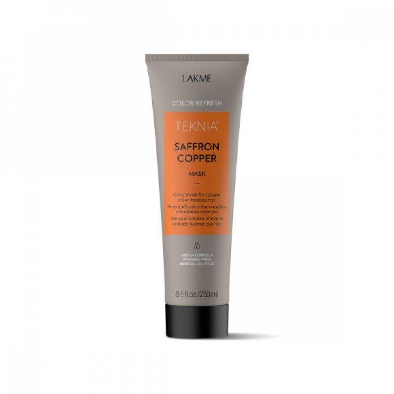 Маска для оновлення кольору мідних відтінків волосся Lakme Teknia Color Refresh Saffron Copper Mask