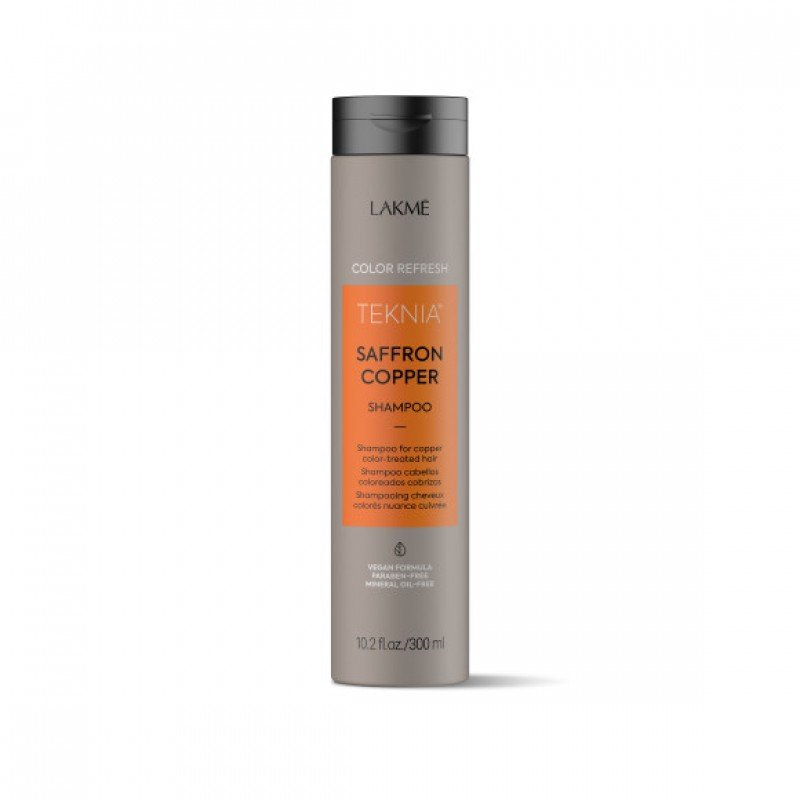 Шампунь для оновлення кольору мідних відтінків волосся Lakme Teknia Color Refresh Saffron Copper Shampoo
