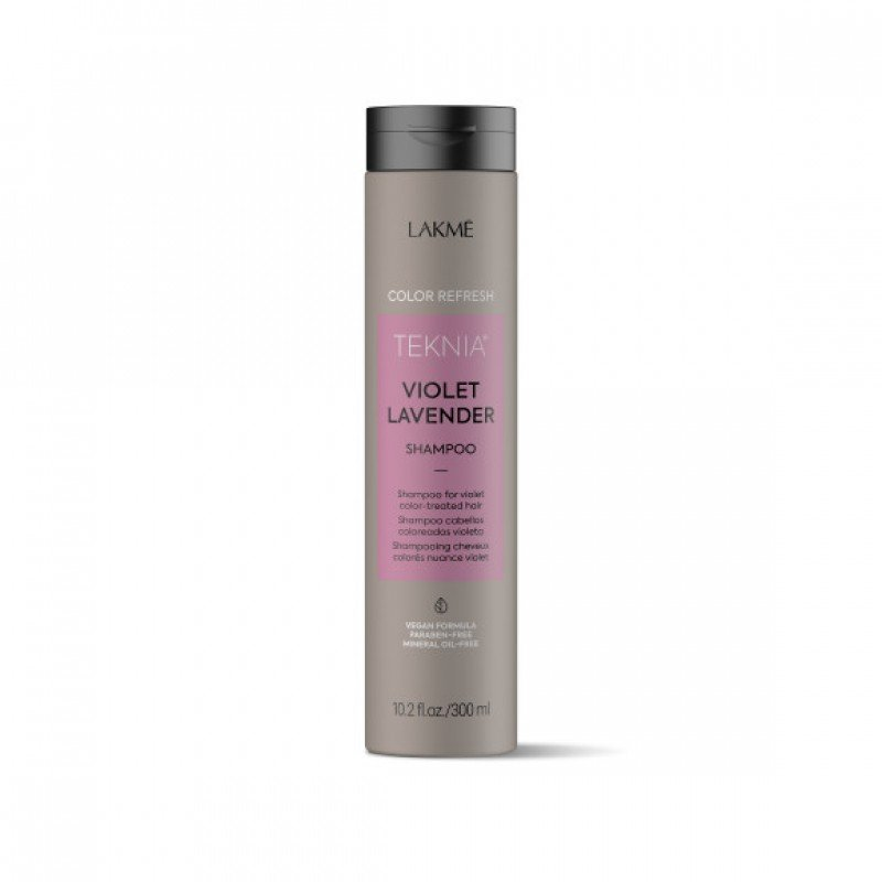 Шампунь для оновлення кольору фіолетових відтінків волосся Lakme Teknia Color Refresh Violet Lavender Shampoo