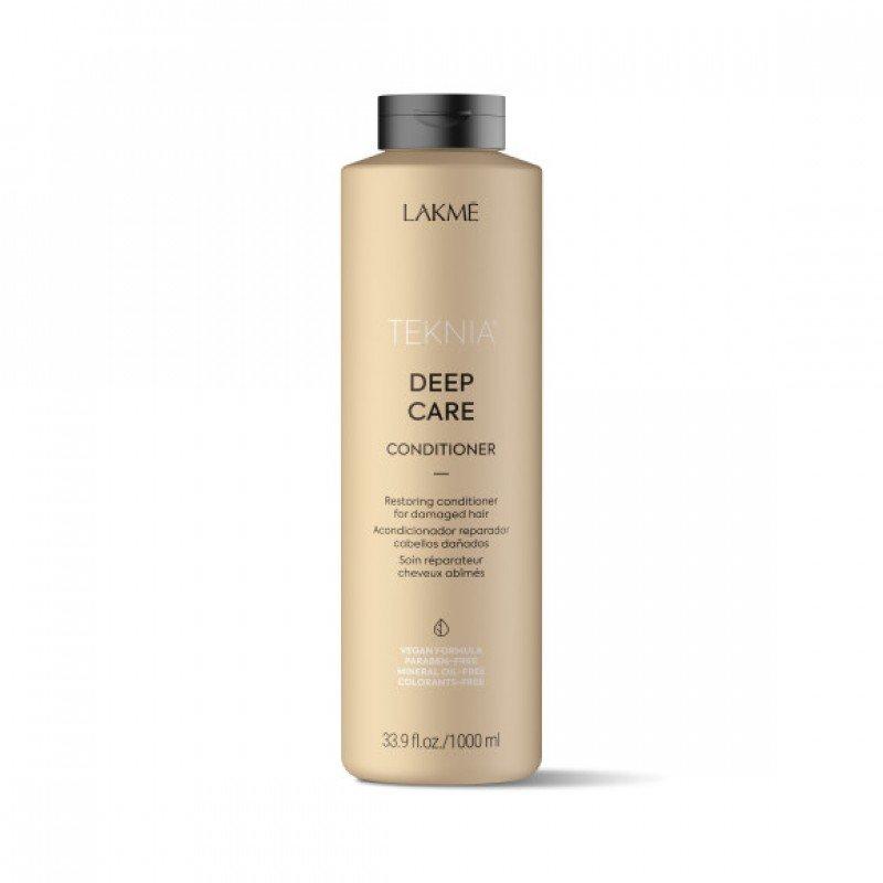Кондиціонер для сухого та пошкодженого волосся Lakme Teknia Deep Care Conditioner 1000 мл
