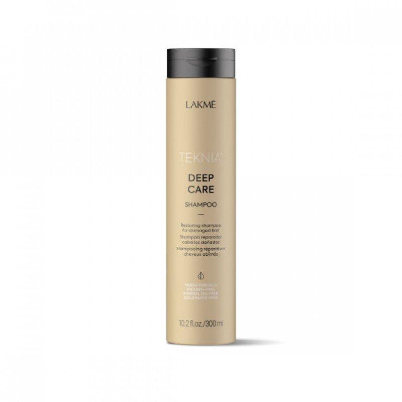 Відновлювальний шампунь для пошкодженого волосся Lakme Teknia Deep Care Shampoo