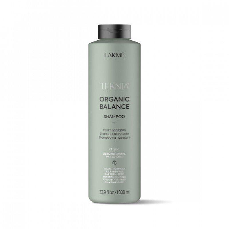 Шампунь для волосся щоденного використання Lakme Teknia Organic Balance Shampoo 1000мл