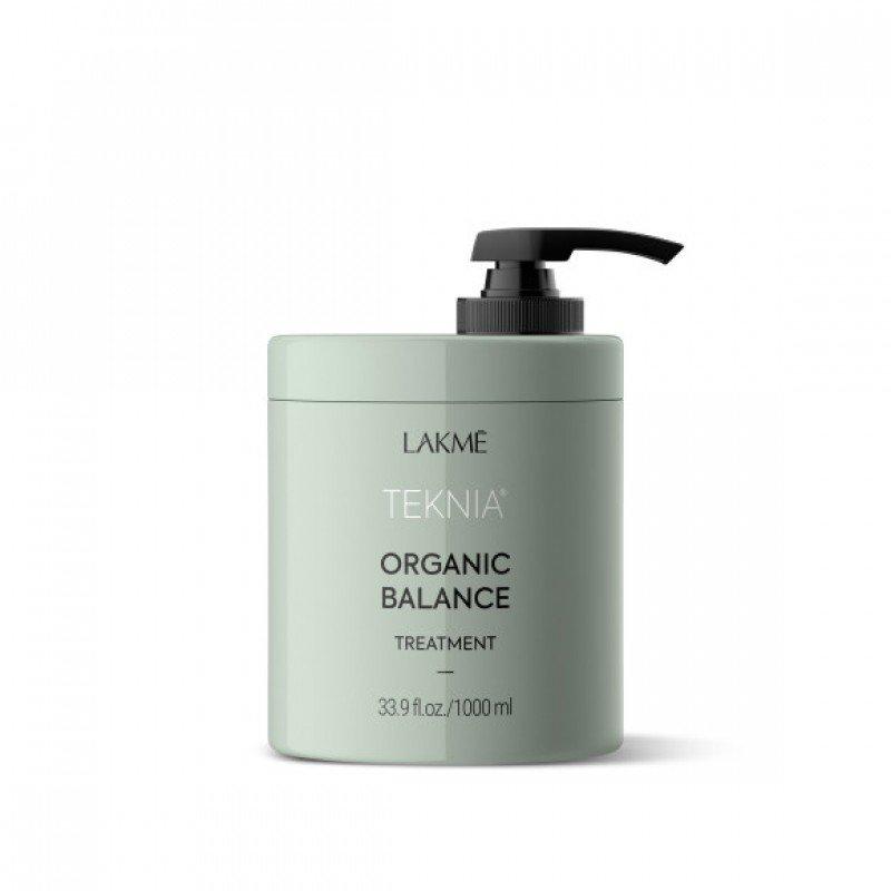 Інтенсивна зволожуюча маска для всіх типів волосся Lakme Teknia Organic Balance Treatment 1000 мл