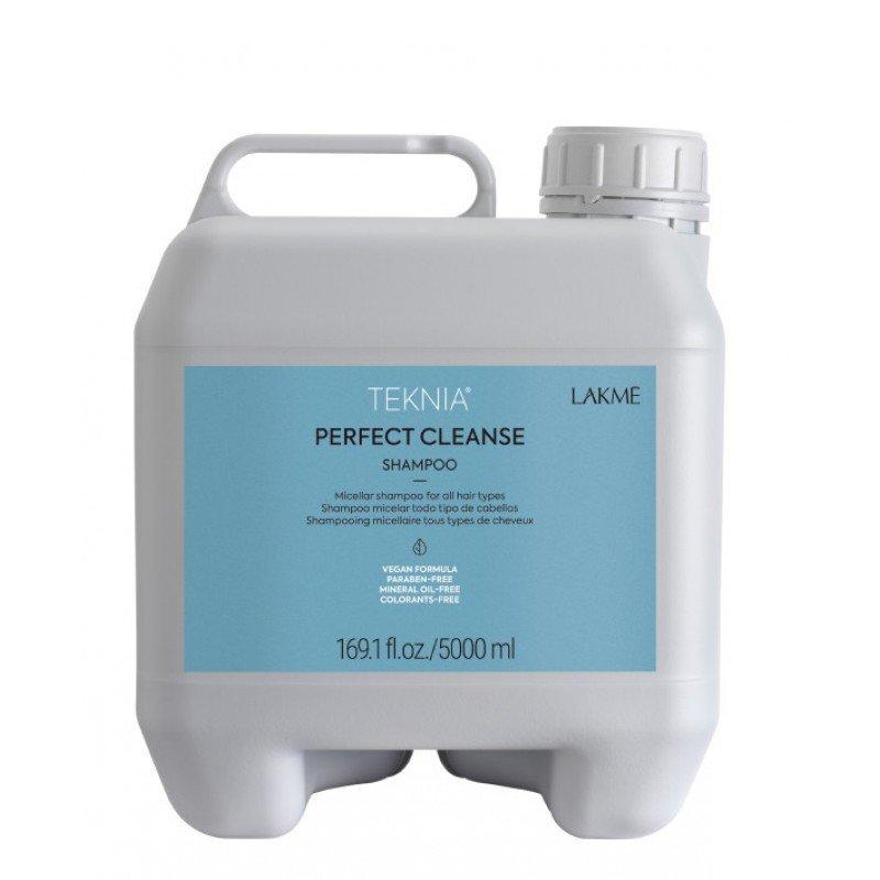 Міцелярний шампунь для глибокого очищення волосся Lakme Teknia Perfect Cleanse Shampoo 5000 мл